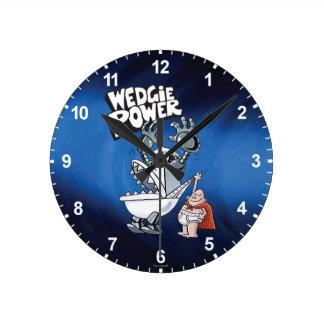 Captain Underpants | Wedgie Power Round Clock