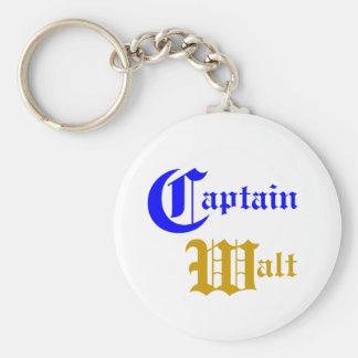 Captain Walt - Boating Keychain