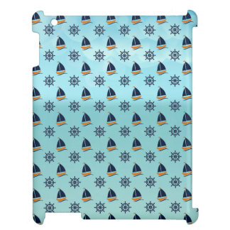 Captain Yacht Boat Sailing Marine Nautical Pattern Cover For The iPad 2 3 4