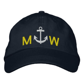 Captain's Cap by SRF Embroidered Cap