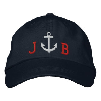 Captain's Cap by SRF Embroidered Baseball Cap