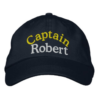 Captain's Cap by SRF Embroidered Hat