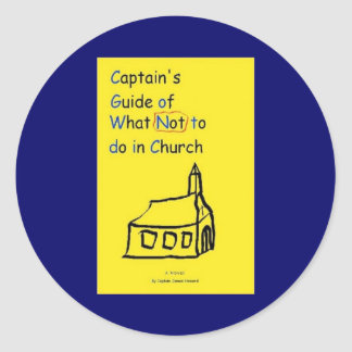 Captain's Guide Sticker