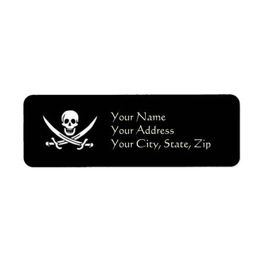 Captain's Mail Return Address Label