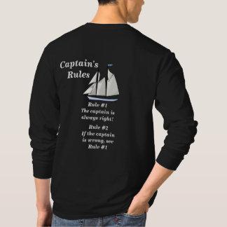 Captains' Rules T-Shirt