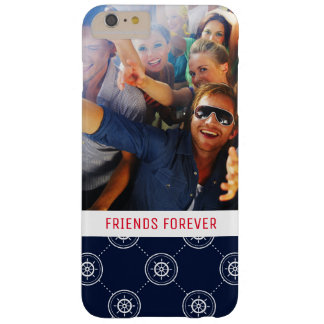 Captain'S Wheel Pattern | Your Photo & Text Barely There iPhone 6 Plus Case