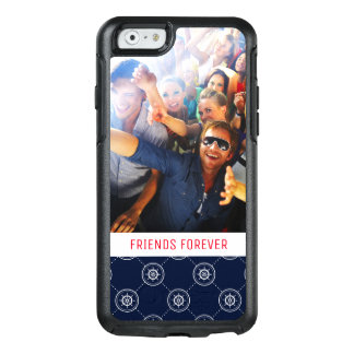 Captain'S Wheel Pattern | Your Photo & Text OtterBox iPhone 6/6s Case