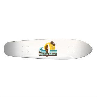 Captiva Island. Custom Skateboard