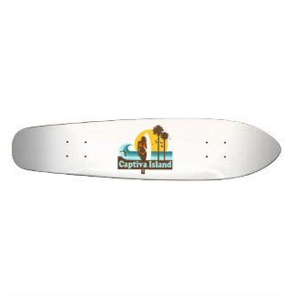 Captiva Island Custom Skateboard