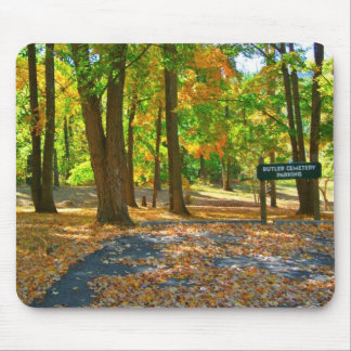 Captivating Autumn Afternoon Mouse Pad
