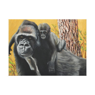 Captive Bernigie Canvas Print