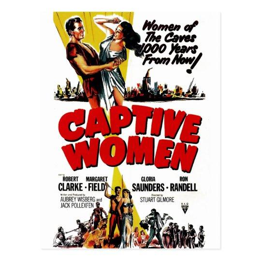Captive Women Postcard