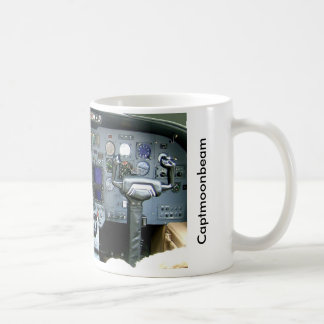 CAPTMOONBEAM Cessna Citation II Instrument Panel Coffee Mug