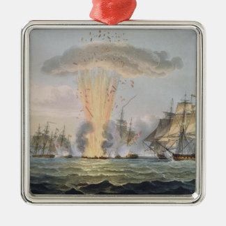 Capture and Destruction of Four Spanish Frigates, Christmas Ornament