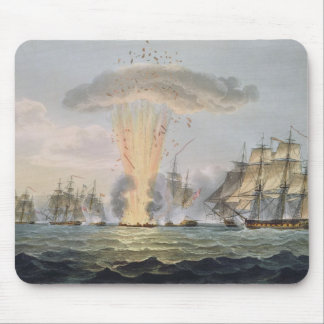 Capture and Destruction of Four Spanish Frigates, Mouse Mat