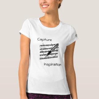 Capture Inspiration - Music T-Shirt