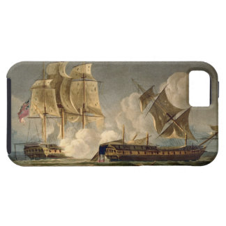 Capture of La Forte, February 28th 1799, engraved iPhone 5 Cover