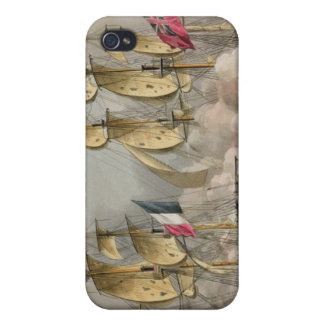 Capture of L'Immortalite, October 20th 1798, from iPhone 4/4S Cases