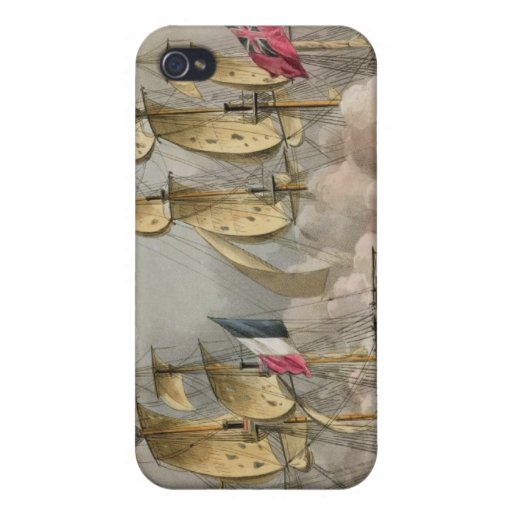 Capture of L'Immortalite, October 20th 1798, from iPhone 4 Covers