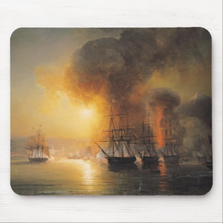 Capture of the Fort of Saint-Jean-d'Ulloa Mouse Pad
