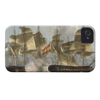 Capture of the Mahonesa, October 13th 1796, engrav iPhone 4 Case