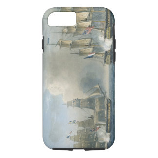 Capture of the Pomone by HMS Arethusa off Cuba in iPhone 8/7 Case
