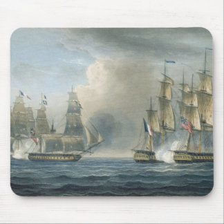 Capture of the Pomone by HMS Arethusa off Cuba in Mouse Mat