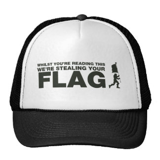 Capture The Flag - Gamer Gaming Video Games Hats