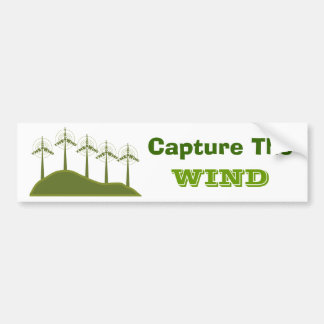 Capture The Wind Bumpersticker Bumper Sticker