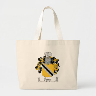 Capua Family Crest Canvas Bags