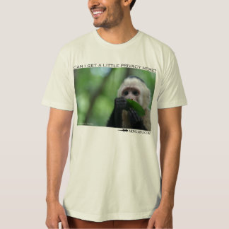 Capuchin monkey - Privacy Please T-Shirt