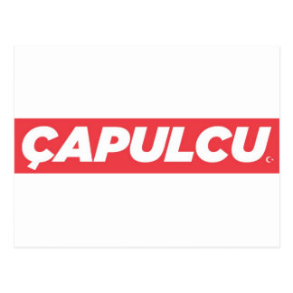 Capulcu Products 2013 Postcard