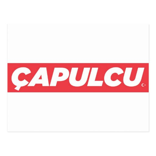 Capulcu Products 2013 Postcard