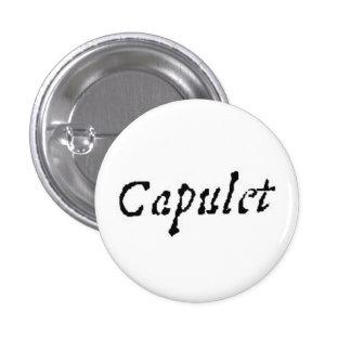 Capulet 3 Cm Round Badge