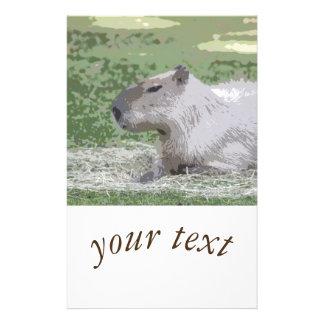 capybara Poster 14 Cm X 21.5 Cm Flyer