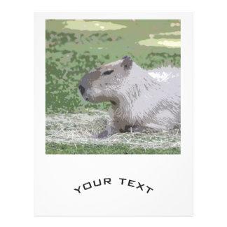 capybara Poster 21.5 Cm X 28 Cm Flyer