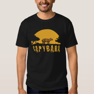 Capybara Sunset Tshirts