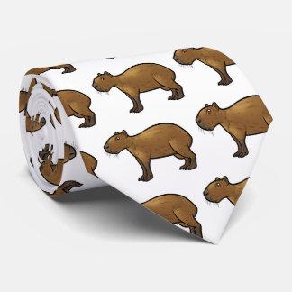 Capybara Tie