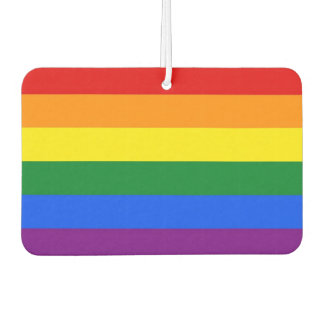 Car Air Fresheners with Pride Flag