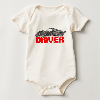 Car and Driver Baby Bodysuit