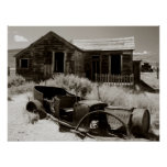Car and House, Bodie Print