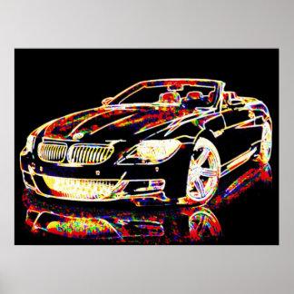 Car Art Poster