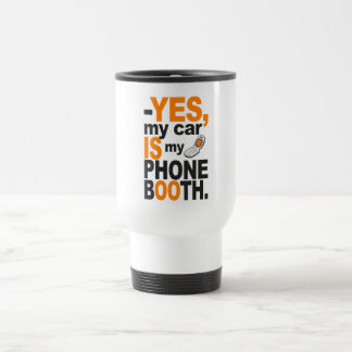 Car as a Phone Booth mug - choose style & color