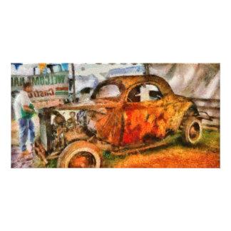 Car - At the car show Card