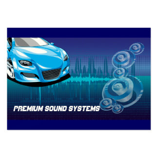 Car Audio Systems Business Card