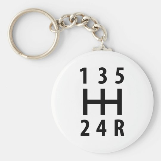 car auto gear shift 5 key ring