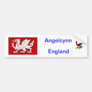 Car Bumper sticker - England