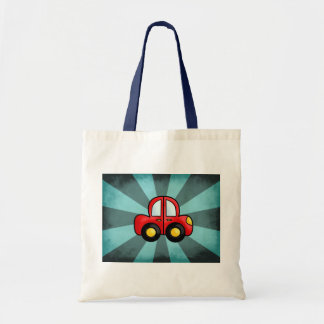 Car Cartoon Tote Bag