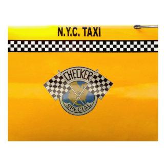 Car - City - NYC Taxi 21.5 Cm X 28 Cm Flyer