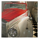 Car collection in The Liberace Foundation and Large Square Tile